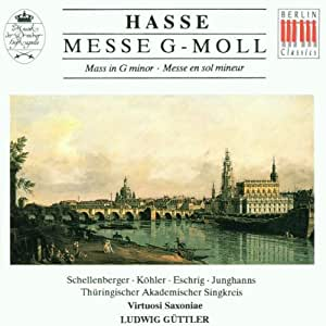 HASSE:MESSE G-MOLL