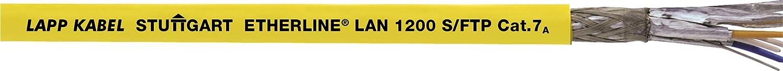 10 Meter Lapp 2170974 Etherline Lan Cat.7A S//FTP 4x2xAWG23//1 Datenleitung LSZ bis 1200 MHz