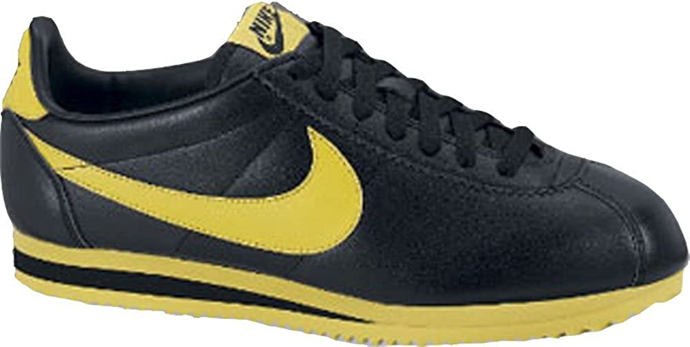 Nike Classic Cortez – Leather 09 349026 – 002 Negro de Amarillo ...