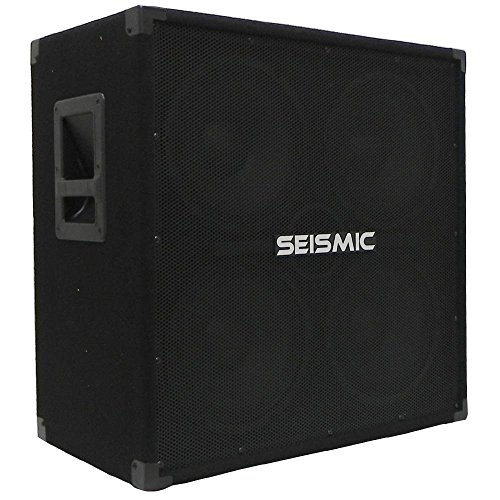 800w Bass (Seismic Audio - 410 Bass Guitar Speaker Cabinet PA DJ 800 Watts 4x10 4 10)