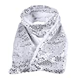 DX DA XIN LED Sequin Scarf, Light up Flashing Scarf for Mother''s & Father's Day Birthday Women Men Gifts