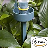 Adjustable Plant Automatic Dripping Watering Self-Watering Stakes Plant Self Watering System for Plant Growing (6 Pack)