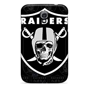 Durable Defender Case For Galaxy S4 Tpu Cover(oakland Raiders)