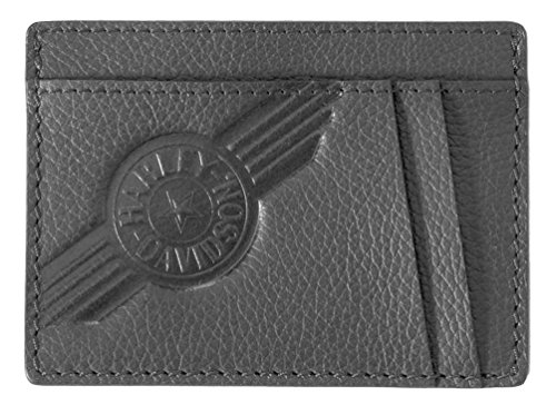 Harley Davidson Leather Pocket Wallet CC8197L BLACK
