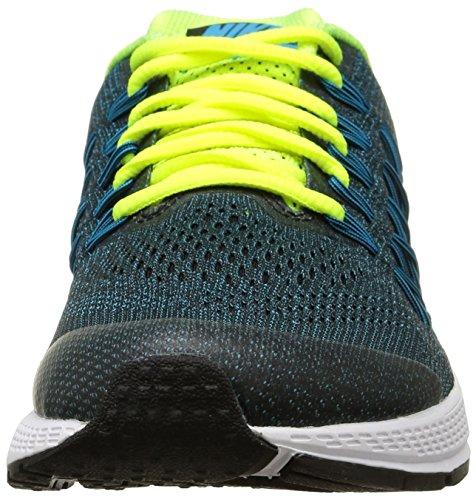 Nike Zoom Pegasus 32 (Gs), Zapatillas de Running Para Niños Negro / Plateado (Black / Mtllc Silver-Bl Lgn-Vlt)