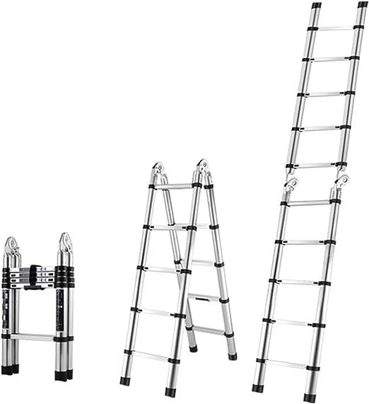 Escaleras telescópicas Escalera telescópica de aluminio Diseño de ...