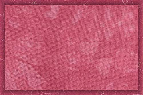 28 Count Cashel Embroidery Linen/Fabric - Extra Large Cut - Tickle Me Pink (Linen Dyed Cashel Hand)