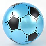Lanlan 9 Inch Children Inflatable PVC Soccer Ball Toy Football Shape Bouncing Ball Gift for Kids Random Color