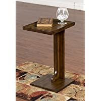 Sunny Designs Simple Assembled Sofa Mate Table
