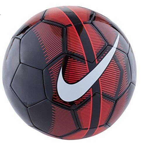 Black Soccer Ball (Nike Mercurial Fade Soccer Ball (Black/Red) (5))