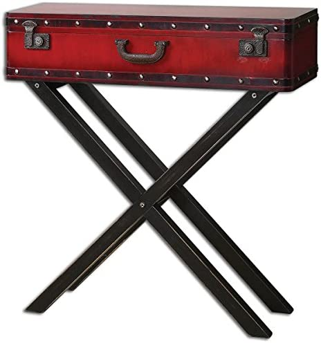 Uttermost Taggart Console Table, Red