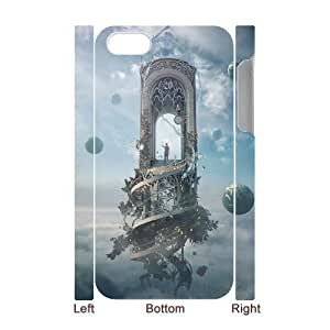 QNMLGB Fantasy World 1 Phone 3D Case For Iphone 4/4s [Pattern-1]