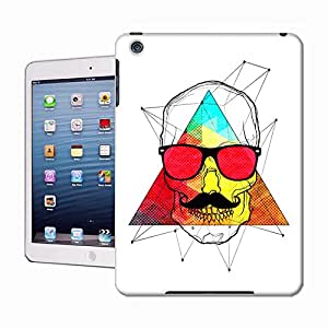 WBOX Most Unique DIY Skull Hipster Hard Cover Case Fit for Apple iPad mini