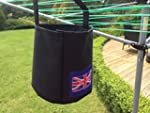 CLOTHES PEG BAG FOR USE WITH WASHING...