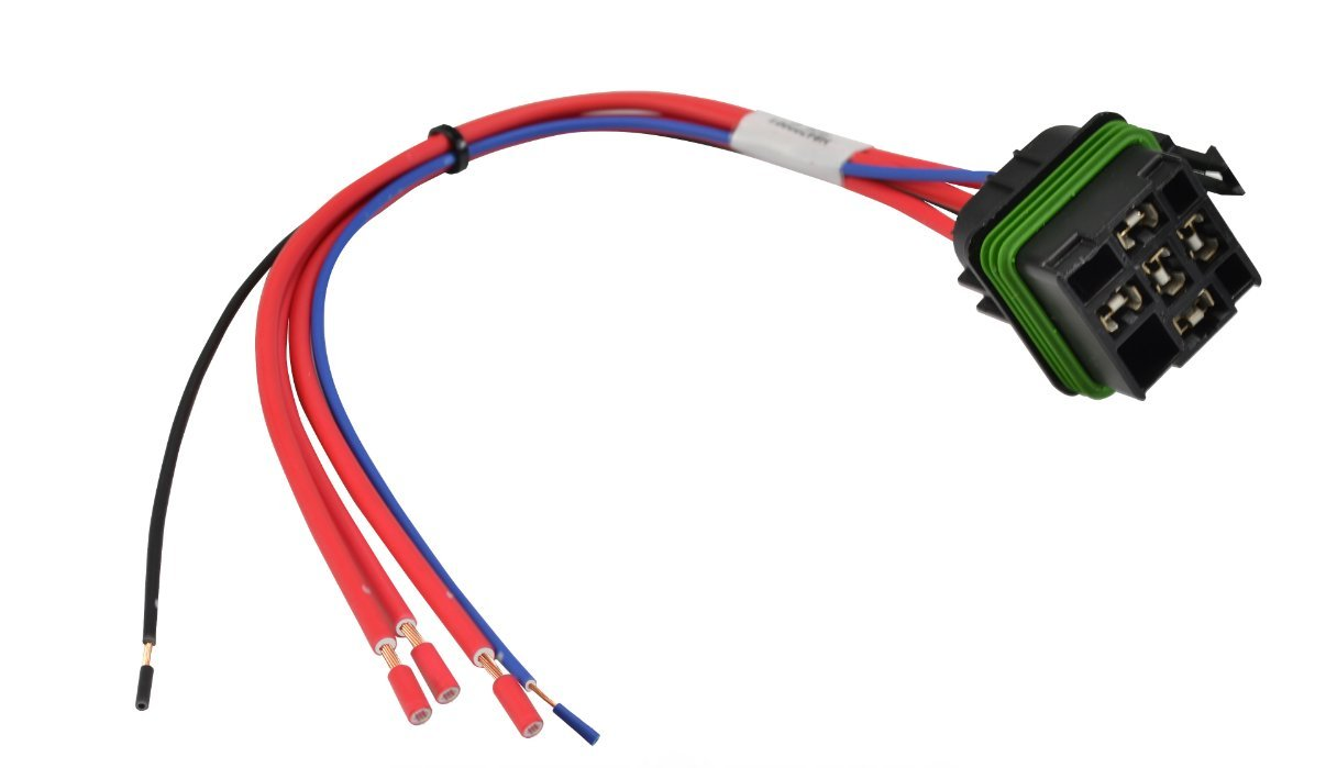 Hella H84709001 Iso Weatherproof Relay Connector With 12 Numbered Wiring Harness Leads Automotive