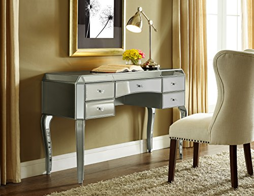 (Pulaski Marie Mirrored Desk)