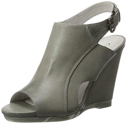 CAFèNOIR Zapatos abotinados QNF214 Gris EU 37