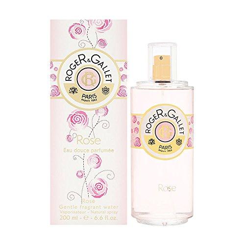Mandarin Peony Eau De Toilette - Roger & Gallet Rose Gentle Fragrant Water Spray for Women, 6.6 Ounce