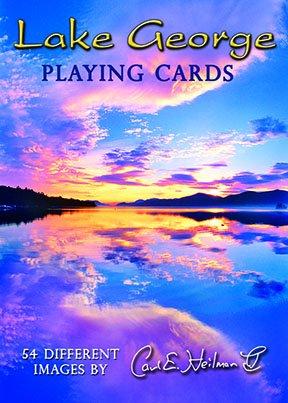 Lake George Playing Cards by Carl E. Heilman II
