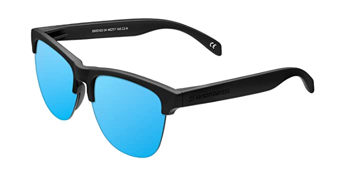 NORTHWEEK Gravity Deck Gafas de Sol, Ice Blue, 140 Unisex