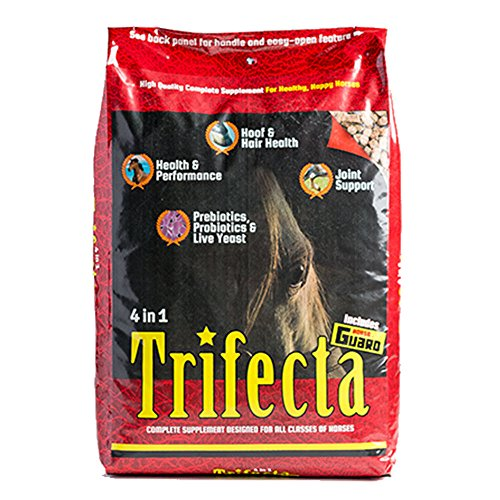 Horse Guard Trifecta Equine Vitamin Mineral Joint Hoof & Probiotic Supplement, 40 lb by Horse Guard, Inc