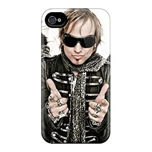 Shock-Absorbing Cell-phone Hard Covers For Iphone 4/4s (Wns5807uRgo) Customized Fashion Edguy Band Image