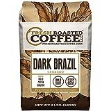 Dark Brazilian Cerrado, Whole Bean Coffee, Fresh Roasted Coffee LLC (2 lb.)