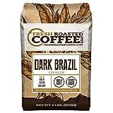 Dark Brazilian Cerrado Coffee, Whole Bean Bag, Fresh Roasted Coffee LLC. (2 LB.)