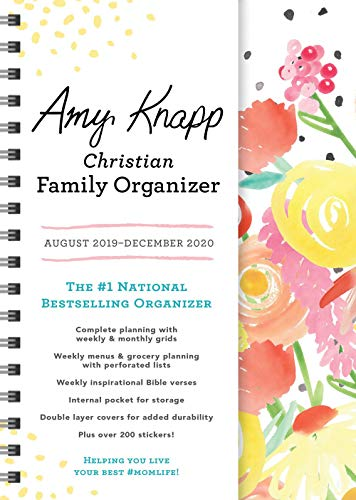 Pdf Christian Books 2020 Amy Knapp's Christian Family Organizer: August 2019-December 2020