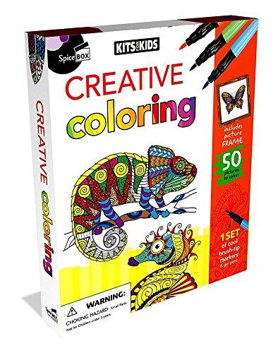 SpiceBox Creative Coloring Kit