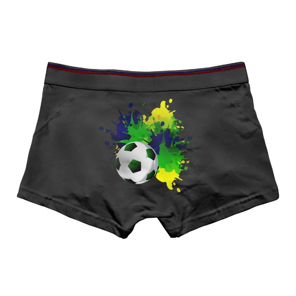 Pmftryuer Mens Underwear Boxer Briefs Underpants Football