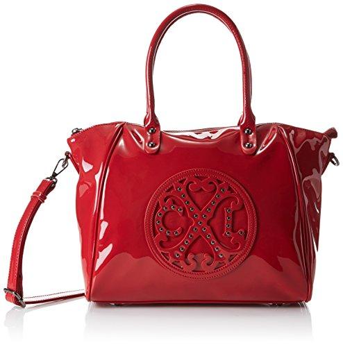 Main Lacroix porté 4 Rouge Rouge 2502 Jonc Christian Stud Sac qYXqdT