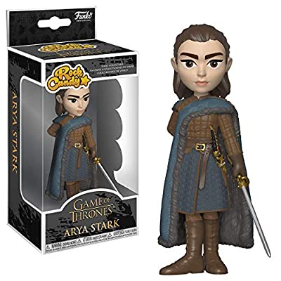 Funko Rock Candy: Game of Thrones - Arya Stark, Multicolor: Toys & Games