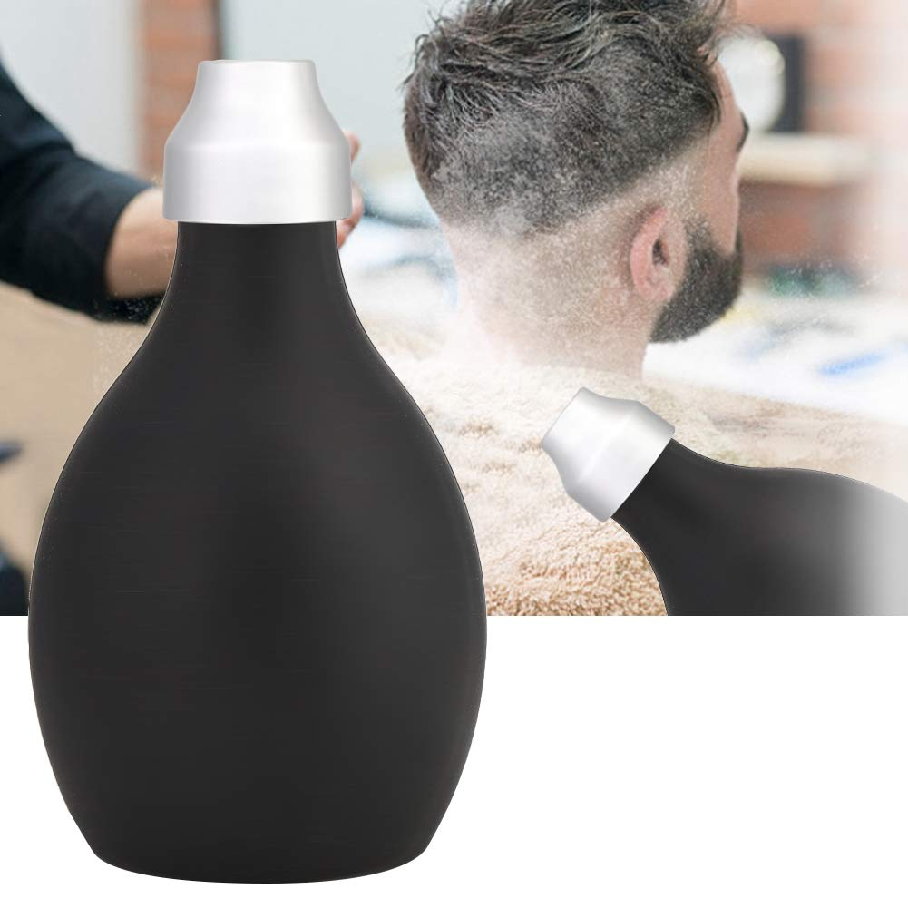Pulverspr/ühflasche Nachf/üllbare Haarfaserapplikator Friseur Bad Puderflasche Dr/ücken Sie Silikagelflasche