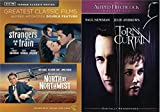 Suspense! Intrigue! Romance! Alfred Hithcock directs Stranger's On a Train, North By Northwest & Torn Curtain 3-DVD Bundle