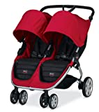 Review of Britax B-Agile Double Stroller, Red