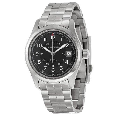 Hamilton-Mens-HML-H70455133-Khaki-Field-Analog-Display-Swiss-Automatic-Silver-Watch