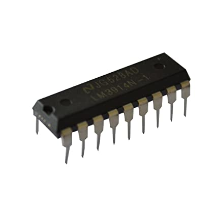 Spiratronics YX3-014 - Circuito integrado LM3914 para 10 leds