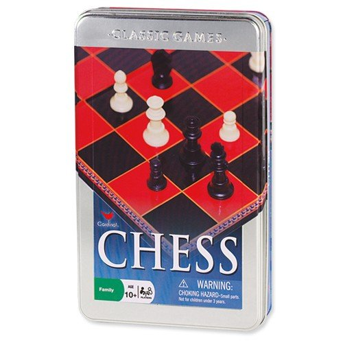 - Cardinal Games 58312 Chess Set in a Tin New