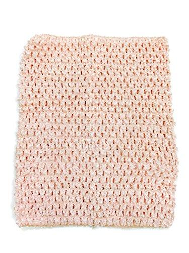Rush Dance Crochet Tutu Fairy Princess Pettiskirt Halter Top (One Size, Peach) - Daisy Princess Peach Costumes