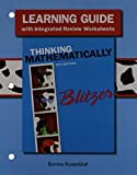Student Workbook for Thinking Mathematically, Blitzer, Robert F., 0321915380