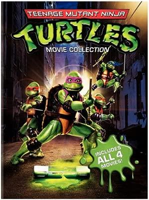 Teenage Mutant Ninja Turtles Film Collection Reino Unido DVD ...