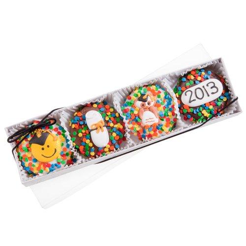 Graduation Oreo Cookies Box of 4