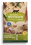 Rachael Ray Nutrish Real Chicken & Brown Rice Recipe Dry Cat Food, 6 Pounds