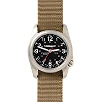 Bertucci A-2S Field Watch Black/SS-Khaki 11052