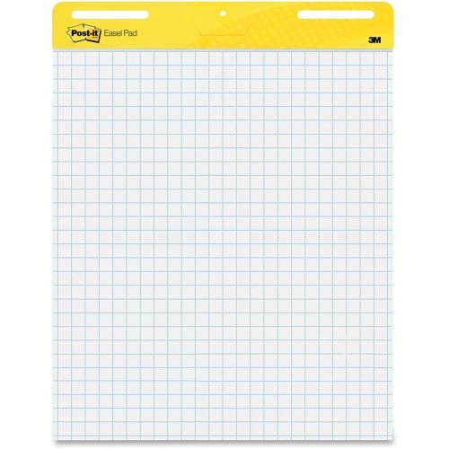 Post-it Self-Stick Easel Pad - 30 Sheet - Quad Ruled - 25