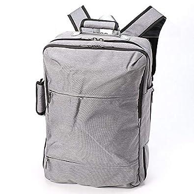 3704e55e65ae Amazon   ビーシーイシュタル(B.C.+ISHUTAL) B.C.ISHUTAL リュックLL スクエア ルソー 機能性 デザイン性  【L/GY/**】   メンズバッグ・財布