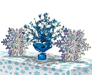 Amazon.com: Disneys Frozen Snowflake Decorations Table Set ...