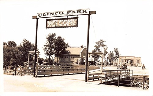 Three Real Photo Postcards Clinch Park in Traverse City, - Traverse City In Stores