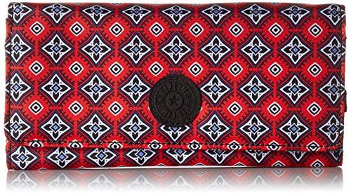Kipling New Teddi Wallet,  Mystical Medallion Orange, One Size - Kipling New Travel Wallet